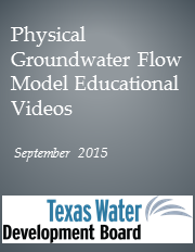 Physical Groundwater Flow Model Educational Videos.