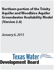 Northern Portion of Trinity Aquifer and Woodbine Aquifer GAM Version 2.01.