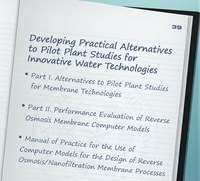 Developing Practical Alternatives to Pilot Plant Studies, 2014