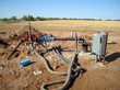 City of Seminole's new Ogallala water supply well, just southeast of Santa Rosa-1