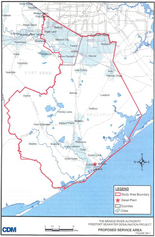 Iwt Recommended Seawater Desalination Projects Region H Texas