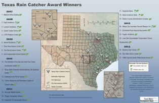 Texas Rain Cather Award Winners
