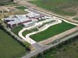 Aerial view of one of the campuses at the Hays CISD, Kyle, Texas.