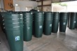 Type of rain barrels sold at the Open House.