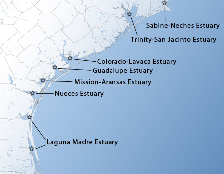 Major Estuaries