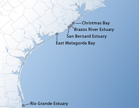 Map of Minor Estuaries