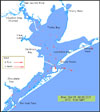View TxBLEND of Galveston Bay