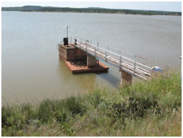 Lake Abilene Service Spillway (Photo provided by Freese and Nichols, Inc.)