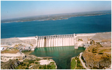 An aerial view to the Amistad Dam and Reservoir (Photo provided by the owner)
