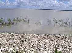 Lake Anahuac (Photo provided by Freese and Nichols, Inc.)
