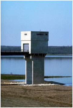 Service Outlet of the Aquilla Lake (Photo provided by the owner)