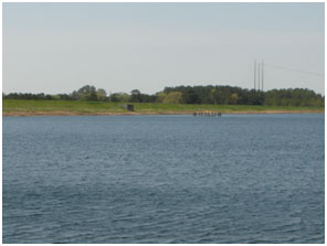 Brandy Branch Reservoir (Photo courtesy of AEP-SWEPCO)