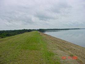 Fairfield Lake Trinity River Basin Texas Water