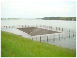 Lake Jacksonville Spillway (Photo provided by Freese and Nichols, Inc.)