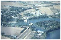 An aerial view to part of the Lake McQueeney (Photo provided by the owner)