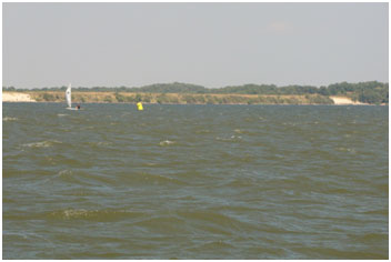 Lake Nocona and Farmers Creek Dam (Photo source: http://lakenoconayachtclub.com/)