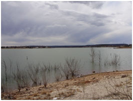 Lake Sweetwater (Photo provided by Freese and Nichols, Inc.)