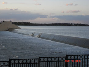 White Rock Lake Spillway (Photo provided by Freese and Nichols, Inc.)
