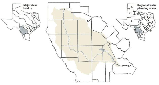 River Basins - Nueces River Basin   Texas Water Development Board on