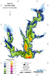 Sediment Thickness Map