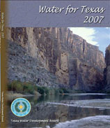 2007 State Water Plan Cover
