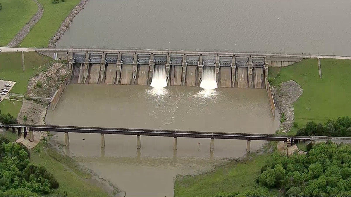 Lavon Lake Trinity River Basin Texas Water Development