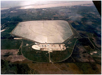An aerial view to the South Texas Project Reservoir (Photo provided by the owner)