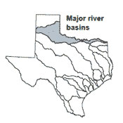 Red River Texas Map River Basins   Red River Basin | Texas Water Development Board