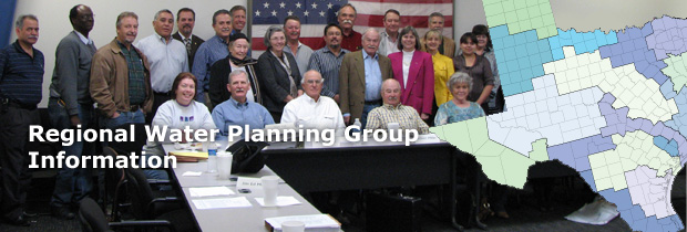 Regional Water Planning Group Information
